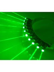 vidros laser verde para clube pub dj mostra com 10pcs de laser verde / copos do palco LED