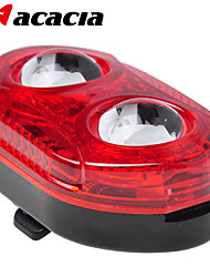 ACACIA 5LEDs  Bike Tail light Lamp LED Cycling Bicycle Taillight Bike Handlebar Back Rear Light for Max Safty Warning
