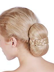 Chignon Bridal Makeup Bun Hairpiece Dancing Party Hair BunFast Bun Hair Fake Hair Bun Hair Chignon  Wedding Photo
