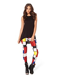 New Pattern Women 3D Print Leggings Stretchy Jeggings Pencil Pants Trousers Tights