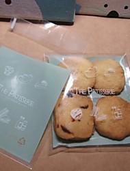 Embalagens para  Biscoitos ( Verde , Plástico não-personalizado