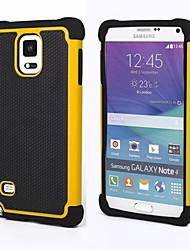 Für Samsung Galaxy Note Stoßresistent Hülle Rückseitenabdeckung Hülle Panzer PC Samsung Note 4 / Note 3