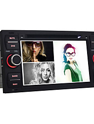 Quad-Core Android4.4 2 Din 7 inch 1024 x 600 Car DVD GPS Navi for Ford Focus2/Fusion/Foucs with Built-in BT/Radio/WiFi