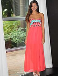 Vestidos ( Gasa )- Impresión Mujer