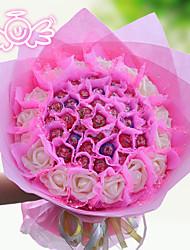 33 Edible Lollipop Flower Wedding Bouquets The Valentine's Day Gift