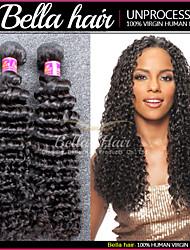 cheveux brésiliens profonde vague, Humains cheveux vierges 3 faisceaux Remy Hair extensions de cheveux