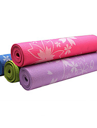 Baotao ® 6mm Yoga Mats Sticky Waterproof Sakura BT44