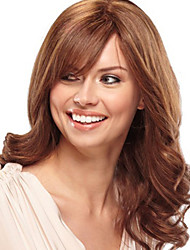 Fashion Natural Synthetic Wig Without Bang Strawberry Golden Blonde Color