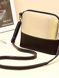 handcee® venta caliente brillante de la PU bolsa de hombro de la manera Mujer