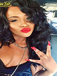 8A Medium density Glueless Full Lace Wigs Unprocessed Malaysian Virgin Human Hair Glueless Lace Front Wigs in stock