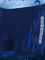 Men's Polyester Floral Swim Shorts