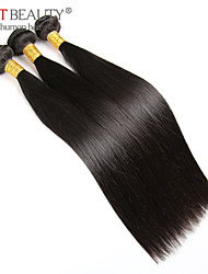 Brazilian Virgin Hair Straight 3 Bundles 100g/pcs Cheap Brazilian Hair 100% Human Hair