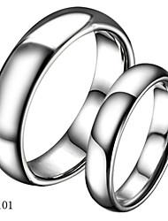 Couple de Bagues ( Tungstène ) Mariage/Soirée/Quotidien