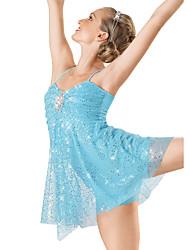 Vestidos ( Como na Imagem , Elastano/Lantejoulas/Licra , Balé/Dança Moderna/Espetáculo ) - de Balé/Dança Moderna/Espetáculo - Mulheres