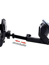 titulaire w / cou extensible montage pare-brise universel voiture de tableau de bord pour l'iphone 6 / samsung - couleurs assorties
