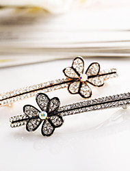YL Jewelry Women's Summer Sell Like Hot Cakes Flowers Contracted Alloy Hair Accessory