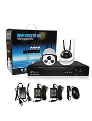 CCTV DRV KIT ( 4 Canales , 1 Canal ) - Cámaratipo bala - Oficina/Tienda/Almacén/Colegio/Calle