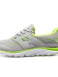 Women's Running Shoes Tulle Green/Gray/Orange