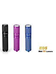Lanternas LED ( Prova-de-Água ) - Para Campismo / Escursão / Espeleologismo/Uso Diário - LED 3 Modo 85 Lumens AAA Cree XP-E R2 Bateria
