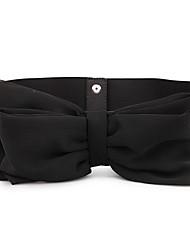 RICHCOCO® Women's Fashion Lace Bowknot Decor Elastic Cord Wide Belt