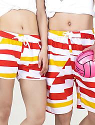 Sunshine Beach Lovers Yang Beach Pants The Dark Red