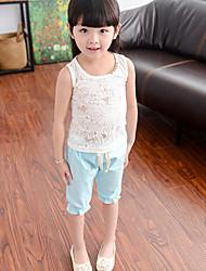 Pantalones Chica de - Verano - Algodón