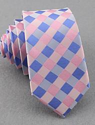 Corbatas ( Rosa , Poliéster )- Cuadrícula/Free Form