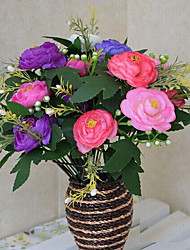 hoge kwaliteit kunstbloemen voor woninginrichting heldere kleur zijde bloem voor bruidsboeket en decoraties