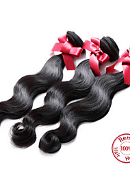 EVET Peruvian Virgin Hair Body Wave Extensions Top Grade 6A Human Hair Weave Bundles 3pcs/lot Wholesale Price
