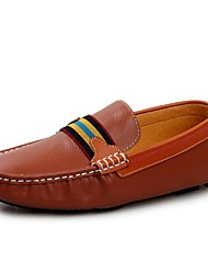 Men's Shoes Casual Leather Loafers Black/Blue/Brown/White