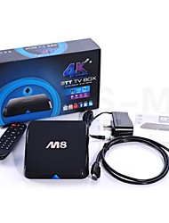 m8 android tv box Amlogic S802 quad core slimme tv ondersteuning 4k