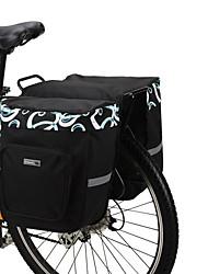Bolsa Maletero/Bolsa Lateral (Negro , Nilón) A prueba de polvo Ciclismo