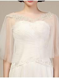 Wedding  Wraps Stoles/Capes Tulle Beige