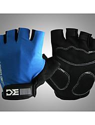 Basecamp Shipping Sports Antislip Cycling Glove Bike Bicycle Sports Half Finger Glove Blue BC-204