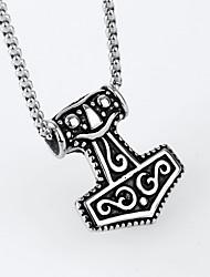 acciaio stile frecce forma titanio europeo all'ingrosso pendente caldo di vendite per il mens (argento) (1pc)