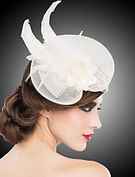 Women's Feather Headpiece - Wedding/Special Occasion Headbands/Fascinators 1 Piece