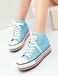 2015 New Design  Casual Scarpe Donna Colorful Bottoms Flat Solid Sneakers Women Canvas Running Ladies Shoe