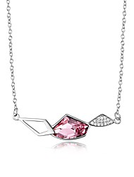 Party/Casual Sterling Silver Pendant Necklace