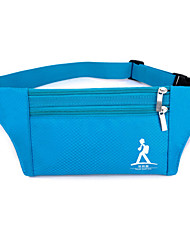 Women Nylon Sports / Outdoor Waist Bag