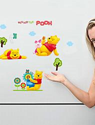 stickers muraux stickers muraux, bande dessinée belle winnie le sticker mural PVC pooh