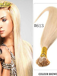 Fusion Hair Extension 100% Real Hair Extension Pre-bonded Hair Straight I Tip Hair Extensions Multiple Color Stick Hair