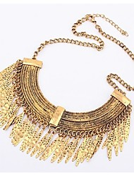Necklace Choker Necklaces Jewelry Party / Daily / Casual Fashionable Alloy Silver 1pc Gift