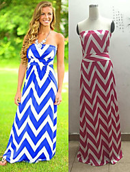 Women's Round Dresses , Knitwear Sexy/Beach/Casual/Cute/Party Sleeveless Cathy