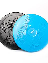 fitness rutschfestem Kunststoff Balance Board Fitness-Übung Gesundheit Taille zappelnden runde Platte Twist Platten dr-dt020