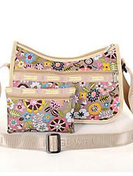 Women 's Nylon Messenger Shoulder Bag - Multi-color
