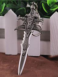 ювелирный сплав моды ретро анимация косплей World Of Warcraft Ледяная Скорбь кулон брелок брелок ключа пряжкой