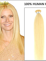 100s de suministro pre-consolidado extensiones de cabello precio al por mayor indio 1g cabello humano / punta si el pelo palo, precio de