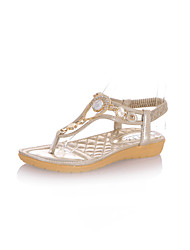 Women's Shoes Flat Heel T-Strap Sandals Casual More Colors Available