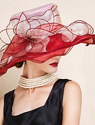 Mujer Sombrero Floppy Fiesta - Verano - Malla
