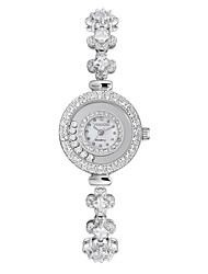 Vodoy®Lady's Watch Rhinestone-encrusted Bracelet FemaleTable  Adjustable Length